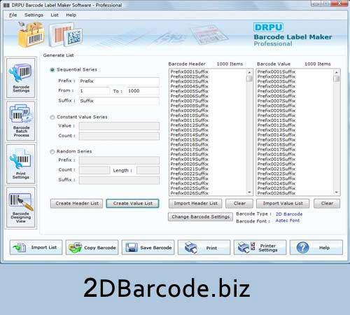 2d Bar Code 7.3.0.1 full