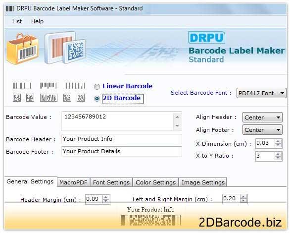UPCE Barcode Creator